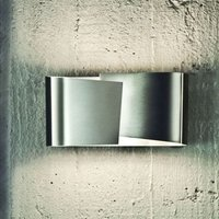 FILIA S   stainless steel wall light