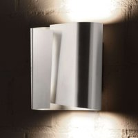 Stainless steel FILIA L wall light