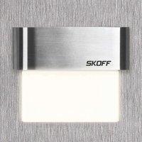 Angular LED recessed wall light Tango daylight