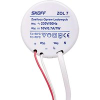 Power supply for LED recessed wall light Tango 7 W