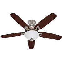 Hunter Builder Deluxe ceiling fan  chrome