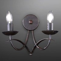 Hannes wall light  antique  two bulb