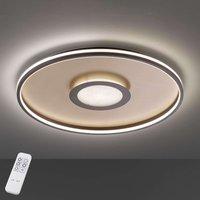 LED ceiling light Bug round  rust 45cm