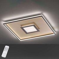 LED ceiling light Bug square  rust 40x40cm