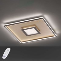 LED ceiling light Bug square  rust 60x60cm