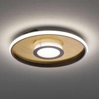 LED ceiling light Zoe  round  gold rust  45cm