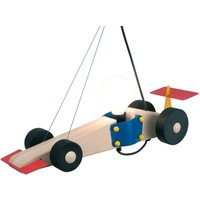 Racing Car Wooden Hanging Light for Child s Room