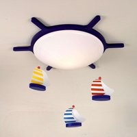 Sailing Boats ceiling light with a boat design