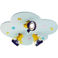 Little Cloud ceiling spotlight  fabric appliqu s