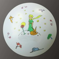 Beautifully decorated Little Prince ceiling light