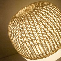 Net for table lamp Afra  beige