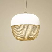 Afra hanging light with a special charm