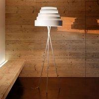 Babel beautiful floor lamp on a tripod  white