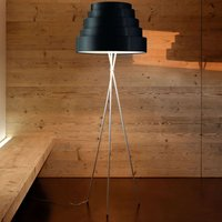 Babel   stylish floor lamp on tripod  black