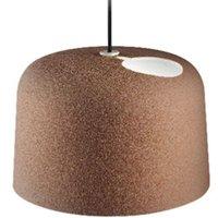 Ceramic hanging light Add with a matt finish
