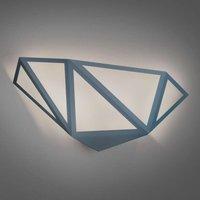 Grey LED wall lamp Starlight