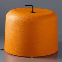 Floor lamp Ola Move  orange fibre glass lampshade