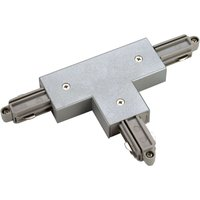SLV T connector one circuit HV track right  silver