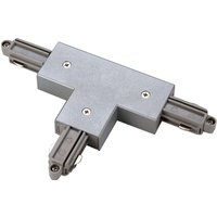 SLV T connector one circuit HV track left silver