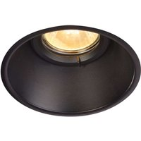 Inconspicuous Horn O ceiling spotlight  black