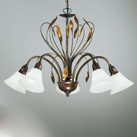 Five bulb elegant hanging light CAMPANA