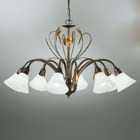 Eight bulb elegant hanging light CAMPANA