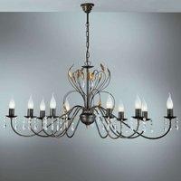 Oval chandelier Campana  110 cm