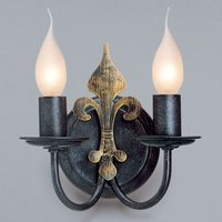 Two bulb CASTELLO wall light