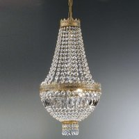 Crystal hanging light CUPOLA