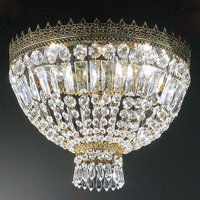 Crystal ceiling Light CUPOLA 40 cm