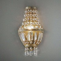 Crystal wall light CUPOLA
