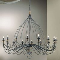Chandelier FILO  140 cm  sixteen bulbs