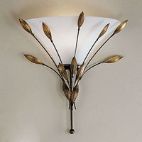 Wall light CAMPANA with leaf decor