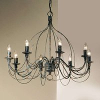 Chandelier FILO  eight bulb  country house