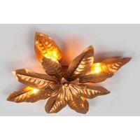 Metal ceiling light Fleuria  antique gold