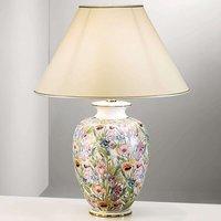 KOLARZ Giardino Panse   floral table lamp  50 cm