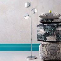KARE Calotta   three bulb retro style floor lamp