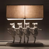KARE Dancing Cows   funny table lamp
