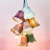 KARE Saloon Flower   colourful hanging light
