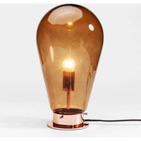 KARE Bulb   brown glass table lamp