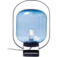KARE Jupiter retro table lamp  blue and black