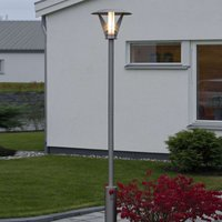Stainless steel post light LARISSA  modern design