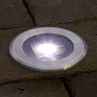 Useful recessed floor light SOLAR LIGHT LED
