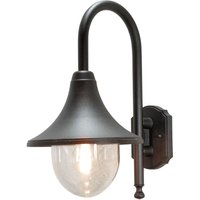 Outdoor wall light Bari  black