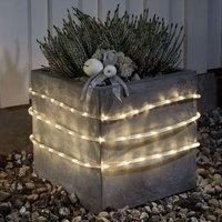LED outdoor rope light 6 m sensor 96 bulb battery