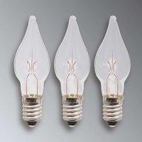 E10 3 W 34 V spare bulbs pack of 3