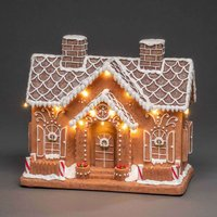 Gingerbread House LED scene