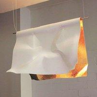 Knikerboker Stendimi gold leaf hanging lamp 100 cm