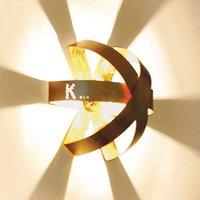 Knikerboker Ecliptika   gilded wall light  40 cm