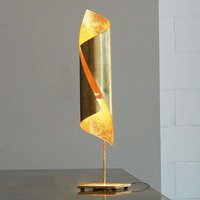 Knikerboker Hu  gold leaf table lamp  70 cm high